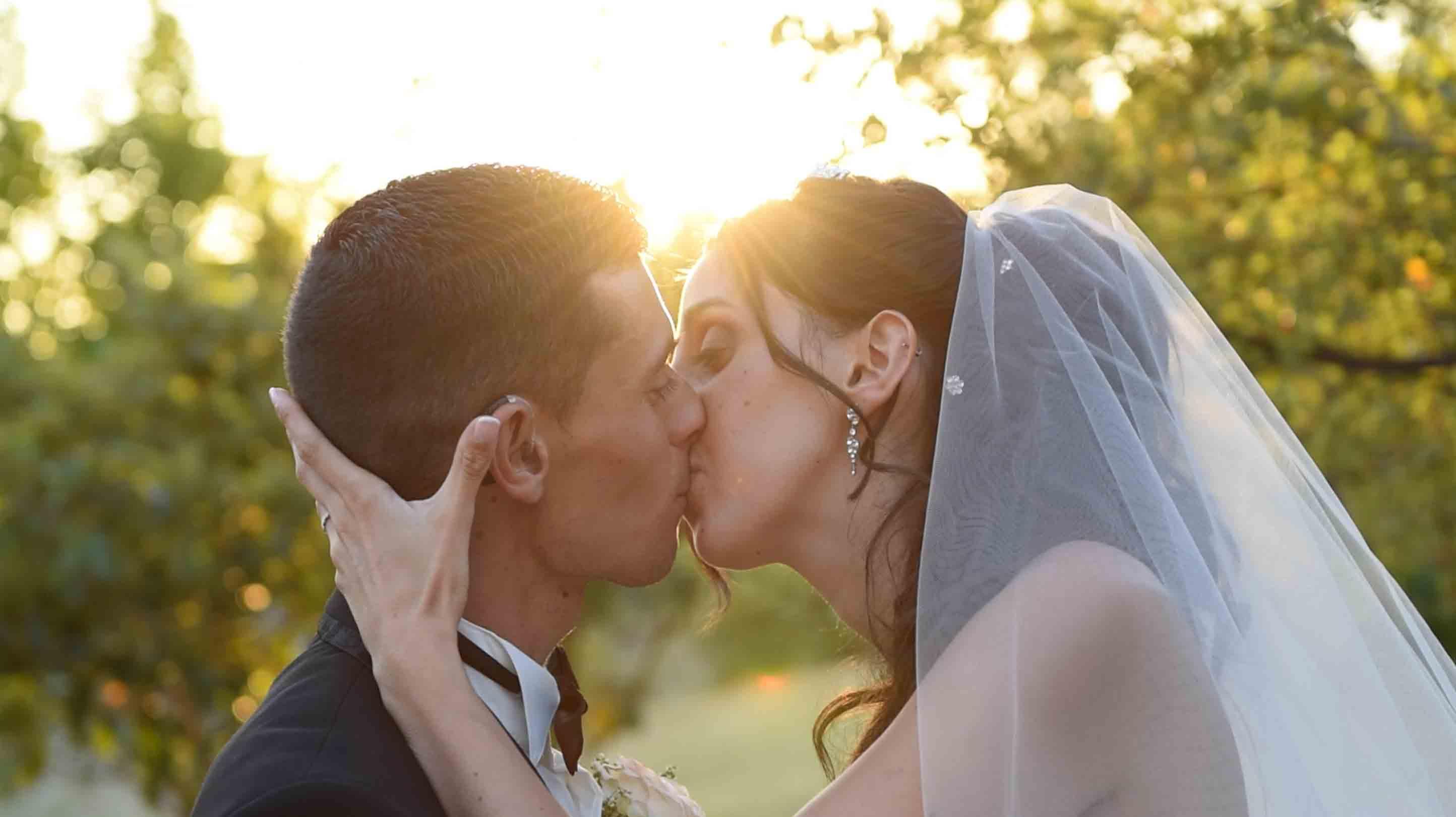 Mariage en drone de Bastien et Marina