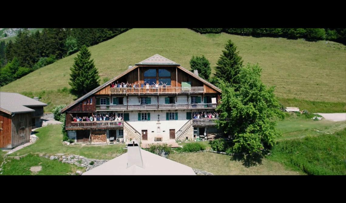 Mariage au reposoir en Haute-Savoie, caroline et frederic
