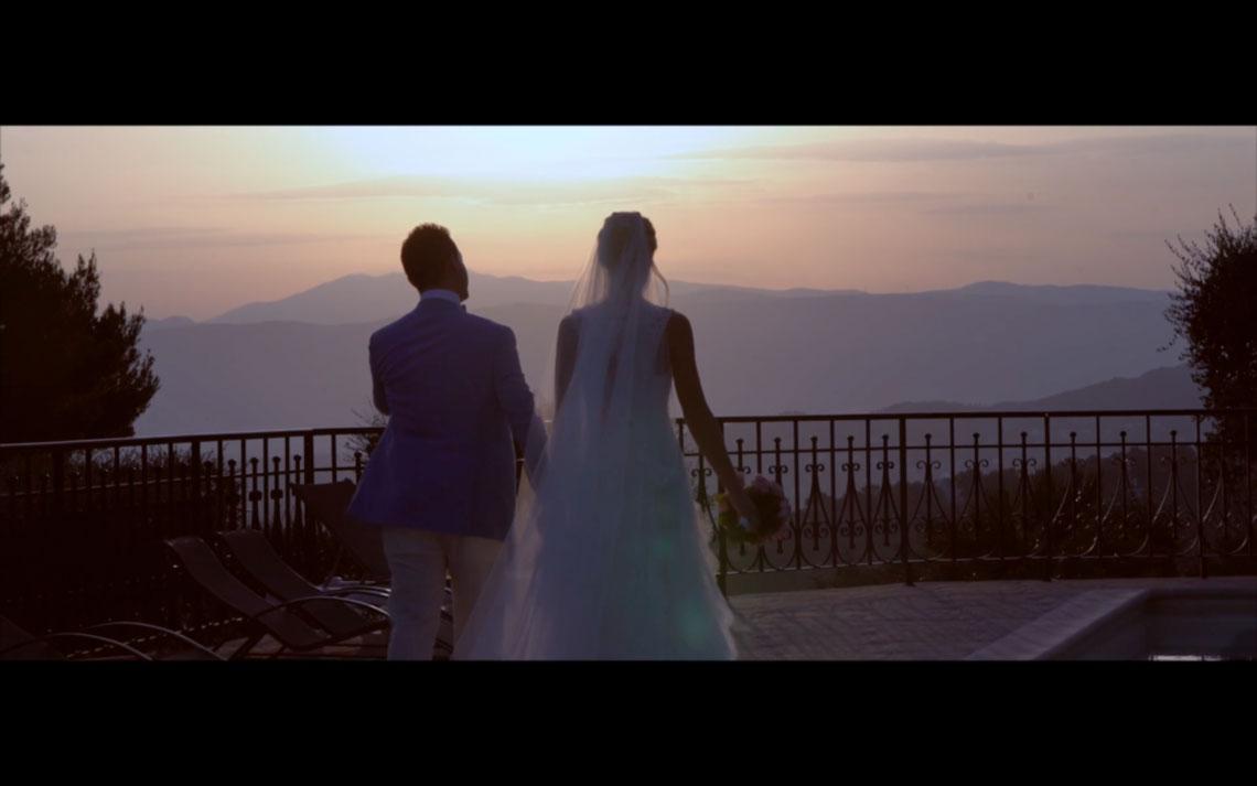 mariage à Villefranche-sur-mer emilie et nicolas