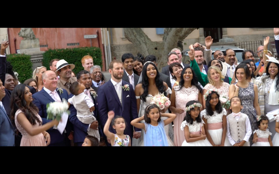 Mariage aux arcs, Gisèle et Simon
