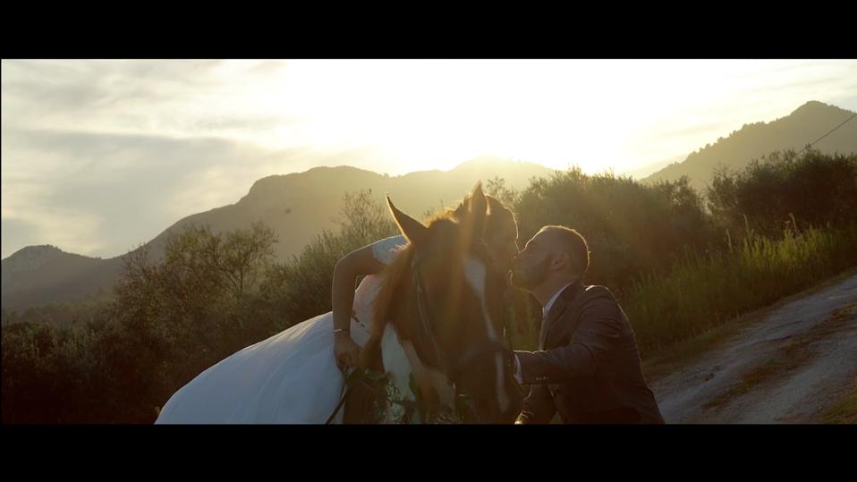 Mariage à cheval dans le Var